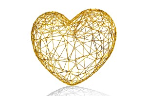 Golden-heart-as-cage