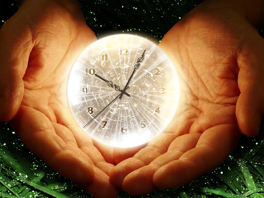 CLOCK IN HANDS